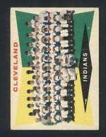 1960 Topps #174 Indians Team Checklist 89-176 VGEX Indians 110618