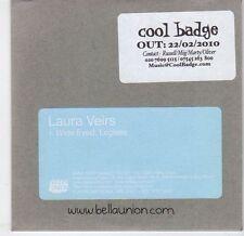 (EL338) Laura Veirs, Wide Eyed Legless - 2010 DJ CD