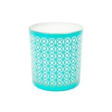 Yankee Candle Aqua Colour San Remo Design Votive Holder NEW