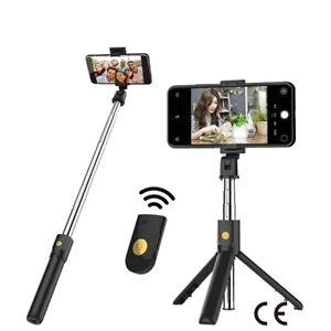 Bluetooth Selfie Stick Remote Control Tripod Handphone Live Photo Holder Tripod