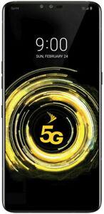 LG V50 ThinQ - 128GB -5G  Aurora Black (Sprint) A GSM Unlocked Read Note