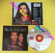 CD SOUNDTRACK James Horner Braveheart 448 295-2 GERMANY no lp mc dvd vhs(OST4)