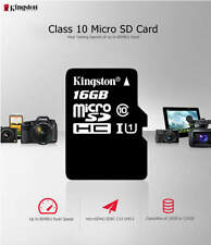 KINGSTON MICRO SD 8GB 16GB 32GB 64GB FLASH MEMORY CLASS10 MINI SD CARD FREE SHIP