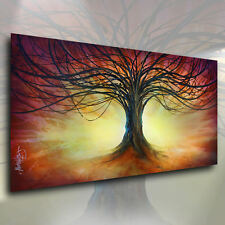 Art Tree of Life CONTEMPORARY Giclee Canvas Print a Mix Lang Landscape Painting