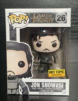 Game of Thrones- Jon Snow Castle Black [Muddy] #26 Hot Topic Exc Funko Pop Vinyl
