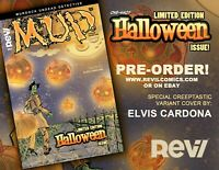 M.U.D. Halloween issue limited edition ELVIS CARDONA variant cover issue!