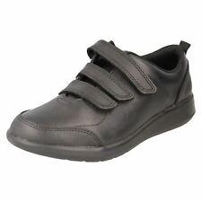 Boys Clarks Smart School Shoes Scape Sky