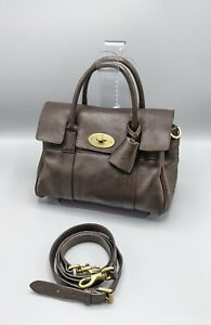 Mulberry Small Bayswater Satchel Brown Leather