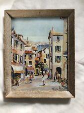 George Hann Vintage Wooden Framed Print