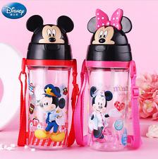 NEW DISNEY Baby Kids Children School Drinking Water Straw Bottle Straw Sippy Cup