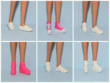 Assorted Lot Athletic Tennis Shoes Genuine Barbie Flat Standard Feet -You Choose