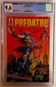 Predator #1 1st Print CGC 9.6 Pop 310 Dark Horse 1st Appearance 🔥
