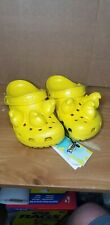 New Yellow Crocs x Peeps Collaboration - Women's US 7 Men's  US 5