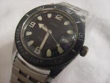Vintage large antique DIVE DIVER DIVING TIMEX mens watch