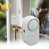 Anti-theft Wireless Window Door Entry Burglar Sonic Alarm System Sensor Gadget