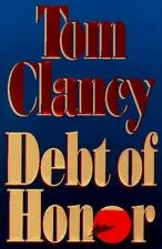 DEBT OF HONOR Tom Clancy 1st Edition 1994 Military Espionage Hardcover & Jacket