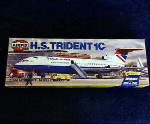 BRITISH AIRWAYS TRIDENT 1C - 1/144 SCALE