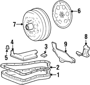 Genuine GM Drive Plate 12609155