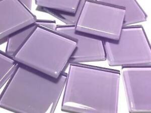 Purple No. 8 Glass Mosaic Tiles 2.5cm - Art Craft Supplies