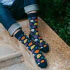 Fashion Mens Women Socks Casual Cotton Novelty Heart Pattern Socks Colorful SOX