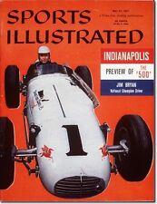 May 27, 1957 Jim Bryan Auto Racing Indianapolis 500 Sports Illustrated A