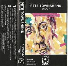 Scoop - Pete Townshend (Cassette, 1983) No UPC, RARE
