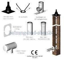 Concentrici Aria Abgas Sistema per Camino 80/125 per Caldaia A Condensazione