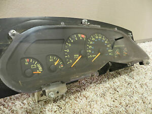 1993 CAMARO RS SPEEDOMETER FACTORY YELLOW ACCENT 3.8 V6 115 MPH CHEVROLET 44K
