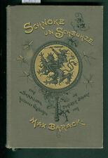 Schnoke un Schbuhze Max Barack Sammlung heitere Gedichte Pfälzer Dialekt 1892