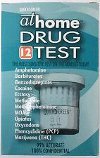 AT HOME 12 drugs DRUG TEST illicit & prescription drugs