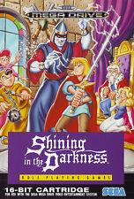 ## SEGA Mega Drive - Shining in the Darkness - TOP / MD Spiel ##