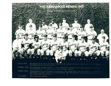 1960 INDIANAPOLIS INDIANS 8X10 TEAM PHOTO  BASEBALL BOYER INDIANA USA