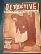 Détective 1954 MALAY LE GRAND ERCOURT MEZEL HOUDANCOURT