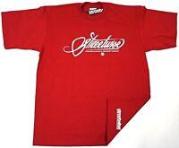 STREETWISE Cursive T-shirt Urban Streetwear Tee Men  L-4XL Burgundy New