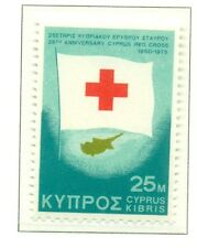 CROIX ROUGE - CYPRIOT RED CROSS 25th ANN. CYPRUS 1975