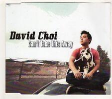 (GW548) David Choi, Can't Take This Away - 2012 CD
