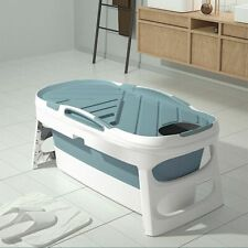 Adult Bathtub Home Sauna With Cover Household Folding Bath Body Large Barrel Tub