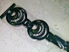 Reloj inteligente Banda Diamante de Imitación Diamante de acceso Michael Kors-Negro Pulsera