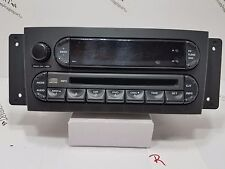 2004 - 2008 Chrysler Pacifica Am Fm Cd Mp3 Radio P05094564Ab Oem Tested! R1