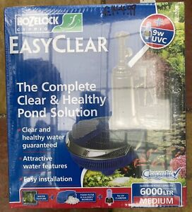 Hozelock EasyClear 6000 All in One Pond Filter and UVC