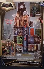 DC MULTIVERSE Batman v Superman ULTIMATE BATCAVE Justice league Playset New Rare