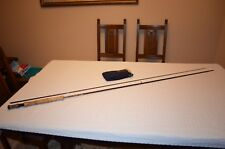 """Hardy of Alnwick 'Graphite De Luxe' Fly Rod, 9' 6"""", #6/7, 2 Piece, + Makers Bag"""