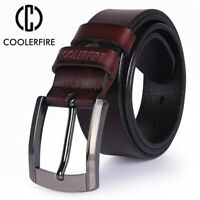 men high quality genuine leather belt luxury designer belts men cowskin fashion