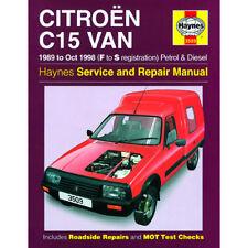 Haynes Car Manual 3509 CITROEN C15 Van 89-98 Workshop Repair Book Maintenance