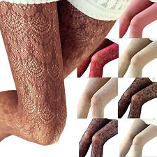 Womens Lace Stockings ladies Fashion Accessories Fishnet Vintage Pantyhose tata