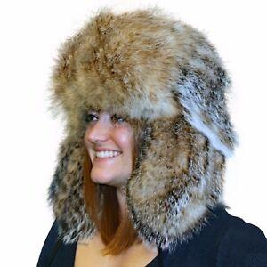 Glacier Wear Badger Fur Russian Trooper Hat hts1020