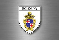sticker adesivi adesivo stemma etichetta bandiera auto bologna italia