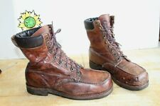 Vintage Rocky Original Oblique Toe Hiker Men's Work Boots. USA Made Size 10 D