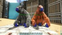 Ark Survival Evolved Xbox One PVE Boss Stat Megatherium Breeding Pair