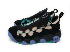 Nike Air More Money Have A Nike Day Mens Basketball Shoes Black Purple Size 10.5